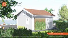 """Attefallshus AB lanserar """"25 kvadrat Inspiration"""". Ett trevligt boende i kompaktformat. En sällskapsdel med ett kompakt kök. Ett badrum med utrymme för tvättmaskin. Ett sovrum samt ett praktiskt sovloft.   Tags: #attefallshus #attefalls #bygglovsfritt #25kvadrat #compactliving"""