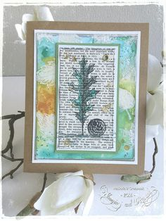 Stampin & Beyond: Vintage Leaves