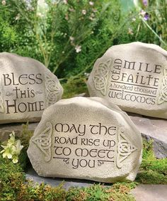 Look at this Celtic Garden Décor Set on #zulily today!