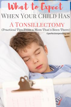 Are you worried about your child having a tonsillectomy, adenoids removed, or tubes put in his ears? I'm sharing some practical tips from when my son went through surgery how you can prepare for the recovery of your child's surgery.