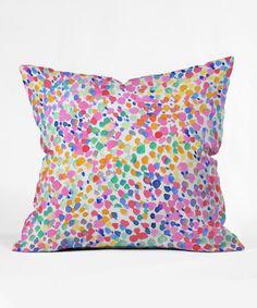 Jacqueline Maldonado Lighthearted Pastel Throw Pillow