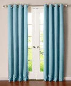 Another great find on #zulily! Ocean Thermal-Insulated Blackout Curtain Panel - Set of Two #zulilyfinds