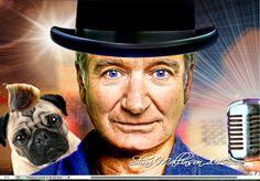 Robin Williams love. www.sharimallinson.com #robinwilliams #sharimallinson