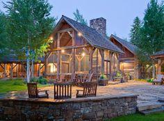 My future mountain lodge, in love