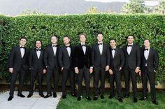 Groomsmen Tux Black Tux, Groom And Groomsmen, Wedding Day, Party Ideas, Fashion, Pi Day Wedding, Moda, Black Tuxedos, Fashion Styles