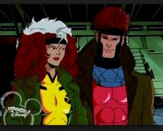 Rogue and Gambit- X-Men tv show