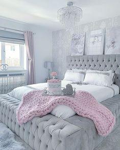 Room Inspiration Bedroom, Bedroom Makeover, Luxurious Bedrooms, Stylish Bedroom, Room Decor, Room Decor Bedroom, Girl Bedroom Decor, Cozy Room Decor, Master Bedrooms Decor