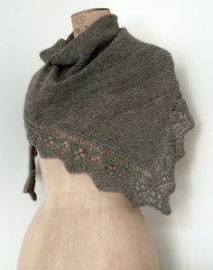 Usoa Shawl by Knit Cat's