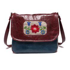 Mini+messenger+bag+messenger+purse+leather+by+BrandiaManufacture,+$75.00