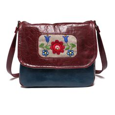 Mini+messenger+bag+messenger+purse+leather+by+BrandiaManufacture,+$75.00