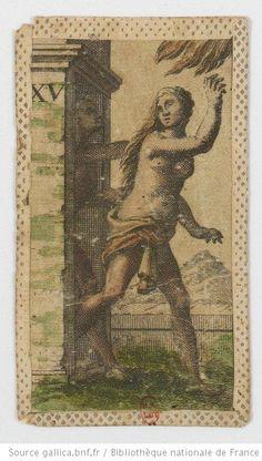 [Jeu de Minchiate à enseignes italiennes imprimé sur soie] : [jeu de cartes, estampe] / Per Giovan Molinelli Éditeur : Giovan Francesco Molinelli (Florence) Date d'édition : 1712-1721 Type : image fixe Format : 1 jeu de 97 cartes : gravure à l'eau-forte sur soie coloriée à la main ; 10,1 x 5,8 cm Droits : domaine public Identifiant : ark:/12148/btv1b10336508z