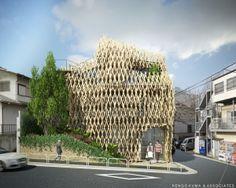 Sunny Hills Japan Omotesando :: Kengo Kuma & Associates