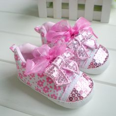 tenis rosa paetes baby