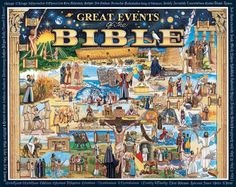WHITE MOUNTAIN PUZZLES, Great Events of the Bible. Do it yourself jigsaw puzzle, boxed attractively with the picture of the puzzle on the cover. (Product #: WMP-232) #religious #history #educational #puzzle #hobby