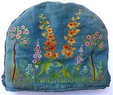Vintage Felt Embroidered Tea Cosy 1920s/30s