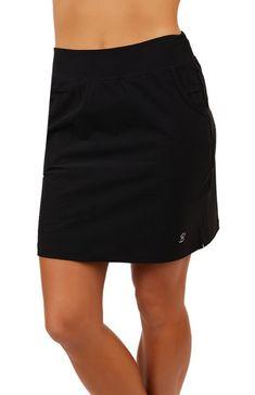 "Sofibella Ladies & Plus Size 18"" Pull On Golf Skorts - ESSENTIALS (Assorted Colors)"