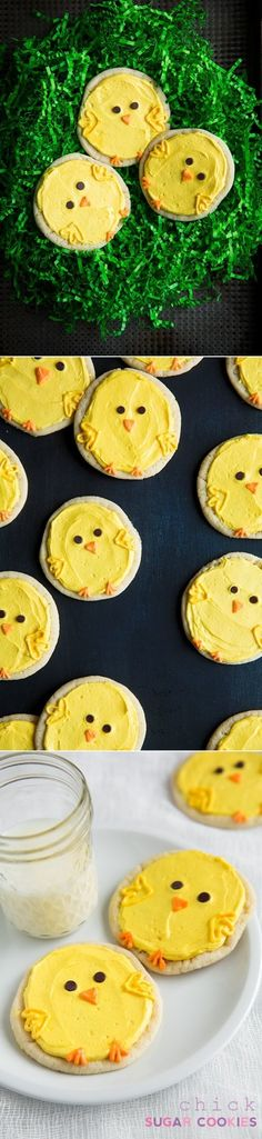 DIY Chick Sugar Cookies from Cooking Classy