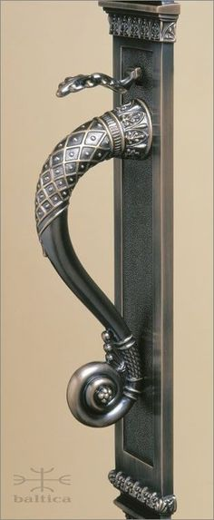 Anastasia thumblatch | antique brass | Custom Door Hardware www.balticacustomhardware.com