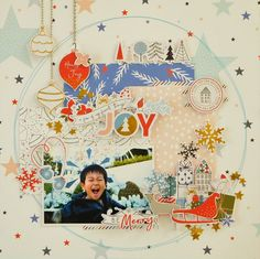 『JOY』by Miyuki Kawakami - Scrapbook.com