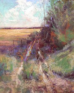 Road LessTraveled by Tom Christopher Pastel ~ 28 x 22