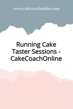 When you have a large cake order requested - it is a good idea to run cake taster sessions for the potential customer. (Who will probably be a bride to be) That way she can get to chose her flavours and icings. And you can offset the charge for the tasting session against her final order. But read our blog to discover what happened to this cake decorator. Why not pin this to your Cake Business Tips board too?