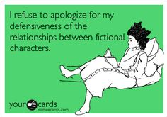I care way too much about fictional characters lol