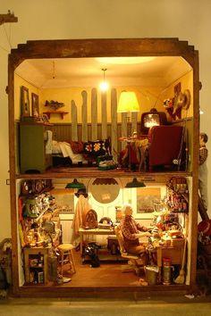 Emmett's Fix-it Shop by Connie Sauve