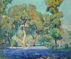 """This untitled piece by Frank Reaugh  featured in """"Texas Impressionism: Branding with Brushstroke and Color, 1885-1935."""""""