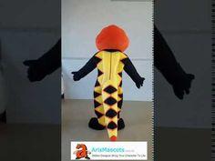 Custom Adult Size Snake mascot costume advertising mascots