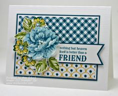 The Stampin' Schach: Friends for The Paper Players