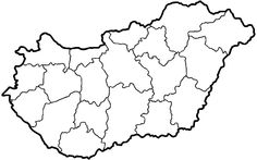 File:Hungary map with Balaton. Nursery School, Travel Maps, Earth Day, Preschool Activities, Vignettes, Geography, Teaching, Education, Wikimedia Commons