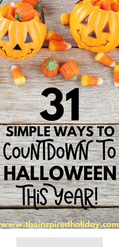 Countdown to Halloween with these 31 ideas designed to get you in the Halloween spirit. Make the most of spooky season with these fun Halloween acitivites. Instead of celebrating Halloween one day a year, celebate it all month long with these great Halloween traditions anyone will love! Halloween Breakfast, Halloween Movie Night, Halloween This Year, Halloween Dinner, Halloween Books, Halloween Festival, Halloween Photos, Halloween 2019, Spirit Halloween