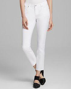 Eileen Fisher Slim Ankle Jeans | Bloomingdale's
