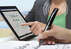Sky™ wifi smartpen Gallery how cool is this if you can write something in a paper and transmitted it straight to your ipad