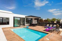 Take A Look At Villa Kikay In Matagorda, Lanzarote Villa With Private Pool, Heated Pool, Outdoor Decor, Beautiful, Home, Lanzarote, Ad Home, Homes, Haus