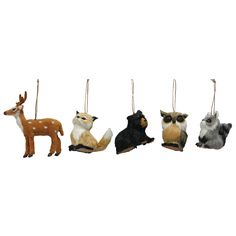 Natural Animals Ornament Assorted
