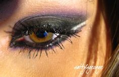 My sisters theme for her wedding is a midnight summer night... Possible eye make up for the made of honor :)