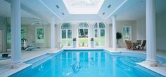 Indoor Swimming Pools With Classical Design | iDesignArch ...