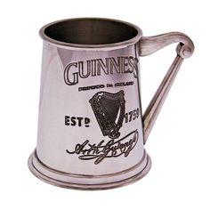 Engraved Guinness Pewter Tankard with Harp Handle Personalized Gifts For Her, Engraved Gifts, Pewter Tankard, 60th Birthday Gifts, Unique Presents, Online Gifts, Guinness, Gifts For Him, Harp