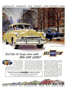 Cars 1950 old car ads home old car brochures old car manual chevy 1951 chevroletclassiccars publicscrutiny Gallery