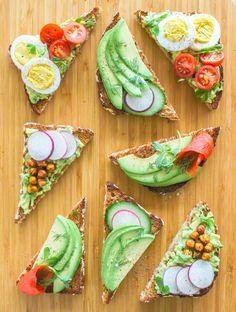 An easy, healthy, and totally customizable brunch idea: DIY Avocado Toast Bar.