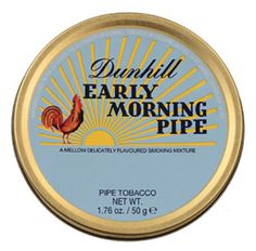 Dunhill Early Morning Pipe Tobacco Reviews - Pipe Tobacco Reviews - LuxuryTobaccoReviews.com.  Pleasant aroma in the can but harsh, hay-like, smoking experience.