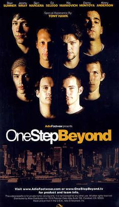 ONE STEP BEYOND - Skateboarding DVD http://www.ebay.co.uk/sch/m.html?_nkw=one+step&_sacat=0&_odkw=everest&_osacat=0&_ssn=robs_rare_recordings
