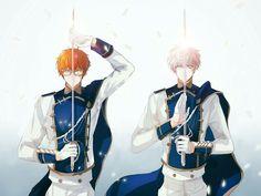 Choi twins as warriors>_<