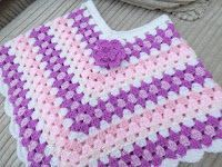 67 Ideas For Crochet Baby Girl Poncho Children Poncho Au Crochet, Crochet Poncho Patterns, Knit Crochet, Children's Poncho, Baby Girl Crochet, Crochet Baby Clothes, Crochet For Kids, Toddler Poncho, Girls Poncho