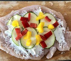 Roladki drobiowe z serkiem i warzywami - Blog z apetytem Mozzarella, Avocado Toast, Cobb Salad, Sushi, Eggs, Breakfast, Ethnic Recipes, Blog, Thermomix