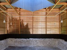 Peter Zumthor . Shelters for Roman Archaeological Site . Chur  (8)