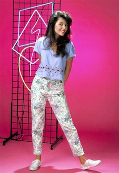 Tiffani Amber Thiessen in Saved by the bell :)