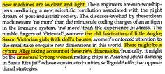 """Un'Alice cyborg?! Beh, l'avete vista in #LcomeAlice ma Donna Haraway l'aveva teorizzata nel 1985 nel suo """"Cyborg Manifesto"""". Che dire? I nostri scavi archeologici continuano... ;-)"""