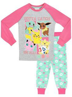 d8ab09c41004 Girls Pokemon Snuggle Fit Pyjamas Pokemon Merchandise